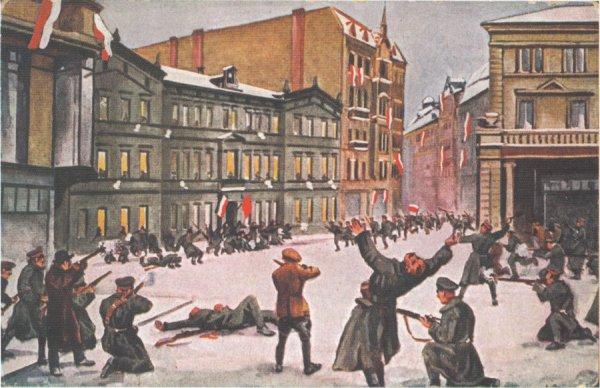 Leon_Prauzinski_Szturm_na_Prezydium_Policji_1918
