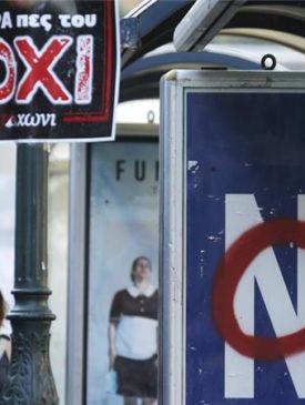 "Greek ""NO"" towards UE"