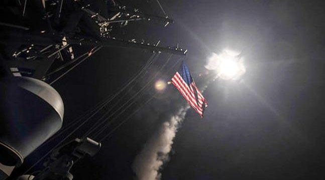 Usa against Syria
